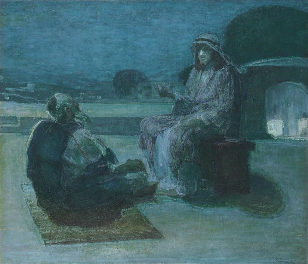 Henry_Ossawa_Tanner_-_Nicodemus_coming_to_Christ
