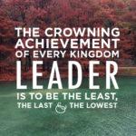 Leadership in the Kingdom