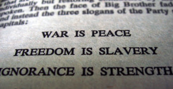 The Choice is Between Freedom and Slavery
